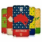 HEAD CASE DESIGNS PRINTED COUNTRY MAPS SOFT GEL CASE FOR SAMSUNG PHONES 2