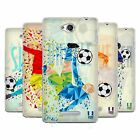 HEAD CASE DESIGNS GEOMETRIC FOOTBALL MOVES SOFT GEL CASE FOR SONY PHONES 3
