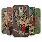 HEAD CASE DESIGNS VIKINGS SOFT GEL CASE FOR SAMSUNG PHONES 4