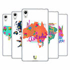 HEAD CASE DESIGNS TRENDY MAPS SOFT GEL CASE FOR SONY PHONES 2