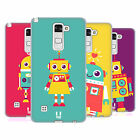 HEAD CASE DESIGNS ROBOT KIDS SOFT GEL CASE FOR LG PHONES 3