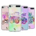 HEAD CASE DESIGNS FLORAL SHUTTER SOFT GEL CASE FOR APPLE iPOD TOUCH MP3