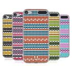 HEAD CASE DESIGNS STRIPES OF LACES SOFT GEL CASE FOR APPLE iPOD TOUCH MP3