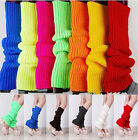 11 Colors Women Ladies Party Legwarmers Knitted Neon Dance Costume Leg Warmers