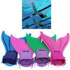 New Kids Toddlers Girl Boy Swimmable Mermaid Swimming Monofin Flippers Swimwear