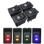 12V Universal Car Truck Boat Fog Light Rocker Switch LED Dash Dashboard Toggle