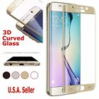 Full Covered 9H Tempered 3D Glass Screen Protector Samsung Galaxy S6 Edge Plus