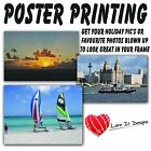 Satin or Gloss Large Colour Posters printing A0 A1 A2 A3. Printed Photo Service.
