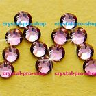 GENUINE Swarovski Antique Pink (ANTP) Crystal (NO-Hotfix) Flat back Rhinestones
