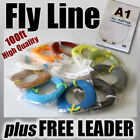 FLY FISHING - 4wt / 100ft FLY LINE ready for rod & reel weight Forward