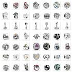 New Space Silver charms Bead Fit European Sterling 925 Silver Bracelet Chain US6