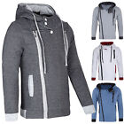 Hot New Mens Side Zipper Sweats Hoodies Boys Casual Sport Tops Coat S-XL Jacket