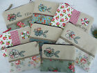 Cosmetic Bag, choice of Cath Kidston fabrics, size & option to add name, Flower