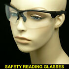 BIFOCAL READING SUNGLASSES CLEAR TINT NEW GLASSES SHOOT SAFETY POWER STRENGTH