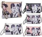Ladies Audrey Hepburn Messenger Bag Shoulder Bag Clutch Satchel Handbag