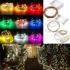 1/2/3/4/5/10M LED Silver/Copper Wire Fairy String Light Battery Xmas Waterproof