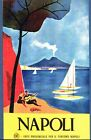 Vintage Naples Italy tourism Poster A3/A2/A1 Print