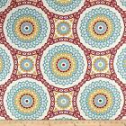 Discount Fabric Richloom Upholstery Drapery Olympus Mulit Color Medallion 107RL