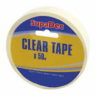 SupaDec Clear Tape - Choose Amount