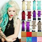 Thick Clip in Hair Extensions 3/4 Full Head One Piece Like Real Human Color Hair