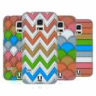 HEAD CASE DESIGNS PAPER PATTERNS HARD BACK CASE FOR SAMSUNG GALAXY S5 MINI