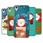 HEAD CASE DESIGNS SANTAS MISADVENTURES HARD BACK CASE FOR HTC DESIRE 626