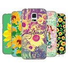 HEAD CASE DESIGNS SUNFLOWER HARD BACK CASE FOR SAMSUNG GALAXY S5 MINI
