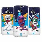 HEAD CASE DESIGNS CHRISTMAS ZOMBIES SOFT GEL CASE FOR HTC ONE M8
