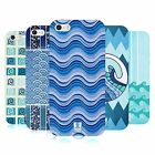HEAD CASE DESIGNS SEA WAVE PATTERNS SOFT GEL CASE FOR APPLE iPHONE 5 5S SE