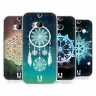 HEAD CASE DESIGNS SNOWFLAKES SOFT GEL CASE FOR HTC ONE M8