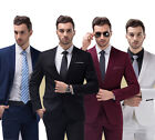 Best Quality Mens Suits Wedding Men Slim Suit Formal Tuxedos Jacket Pants S-5XL