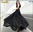 2016 New Women sexy Formal Cocktail Evening Party lace Full-Length Long Dress
