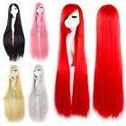 Lovely 7 Colors Long Straight Fashion Design Women Fancy Dress Cosplay Party Wig