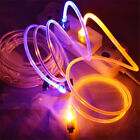3ft/1M LED Light Micro USB Charger Cable Data Cord For Samsung Galaxy S3 S4 S5