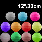 """BULK 12x 12""""/30cm Paper Lanterns Colourful Wedding Party home Chinese Decoration"""