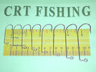 EAGLE CLAW 635 O'SHAUGHNESSY 90° JIG HOOK 50 PACK CHOOSE SIZE 1 TO 7/0