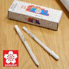 SAKURA White Silver Gold Blue Colour GELLY ROLL Pen Water Based Gel Ink 0.4mm