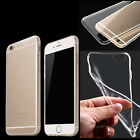 Transparent Clear Silicone Crystal Soft TPU Gel Cover Case for Phone 6/6S Plus