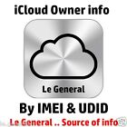 Find Apple ID, iCloud ID info By UDID + IMEI .. 24 Hours Very Fast