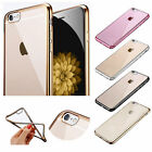 Ultra Thin Clear Crystal Rubber TPU Soft Case Cover For Apple iPhone 6S/ 6S Plus