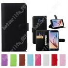 Flip Wallet Case Cover PU Leather Stand Card Holder Case Skin For Samsung Galaxy