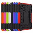 Rugged Stand Rubber Shockproof Hybrid Hard Case Cover For Amazon Kindle Fire