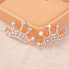 Crown fashion rhinestone crystal wedding brooch scarf garment sweater pin gift
