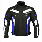 ProFirst Mens Waterproof Genuine Motorbike Motorcycle Cordura Jacket CE Armoured