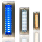 IP68 LED Bricklight Outdoor Wall Light Pathway Step Light Warm White/Blue/White