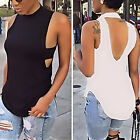 Fashion Women's Sexy Summer Vest Top Sleeveless Blouse Casual Tank Tops T-Shirt
