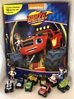 NICK JR BLAZE AND THE MONSTER MACHINES BUSY BOOK - 12 FIGURES AND A PLAYMAT