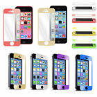 Colorful Real Tempered Glass Film Screen Protector for iPhone SE