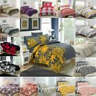 Duvet Cover with Pillow Case Quilt Cover Bedding Sheet Set Bed Linen In All Size £16.99 GBP on eBay