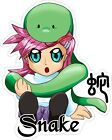 Chinese Horoscope Anime Year of the Snake Decal / Sticker